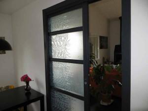 Intimité et lumière en verre satiné
