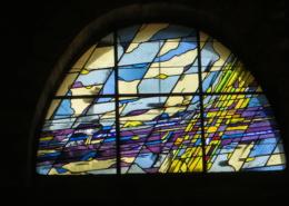 création vitrail d'église